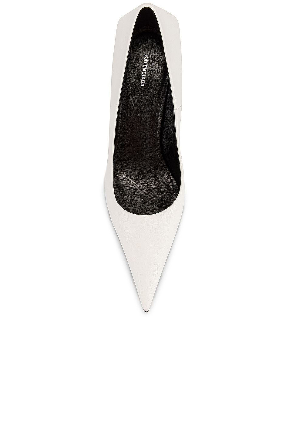 Image 4 of Balenciaga Square Knife Pumps in White