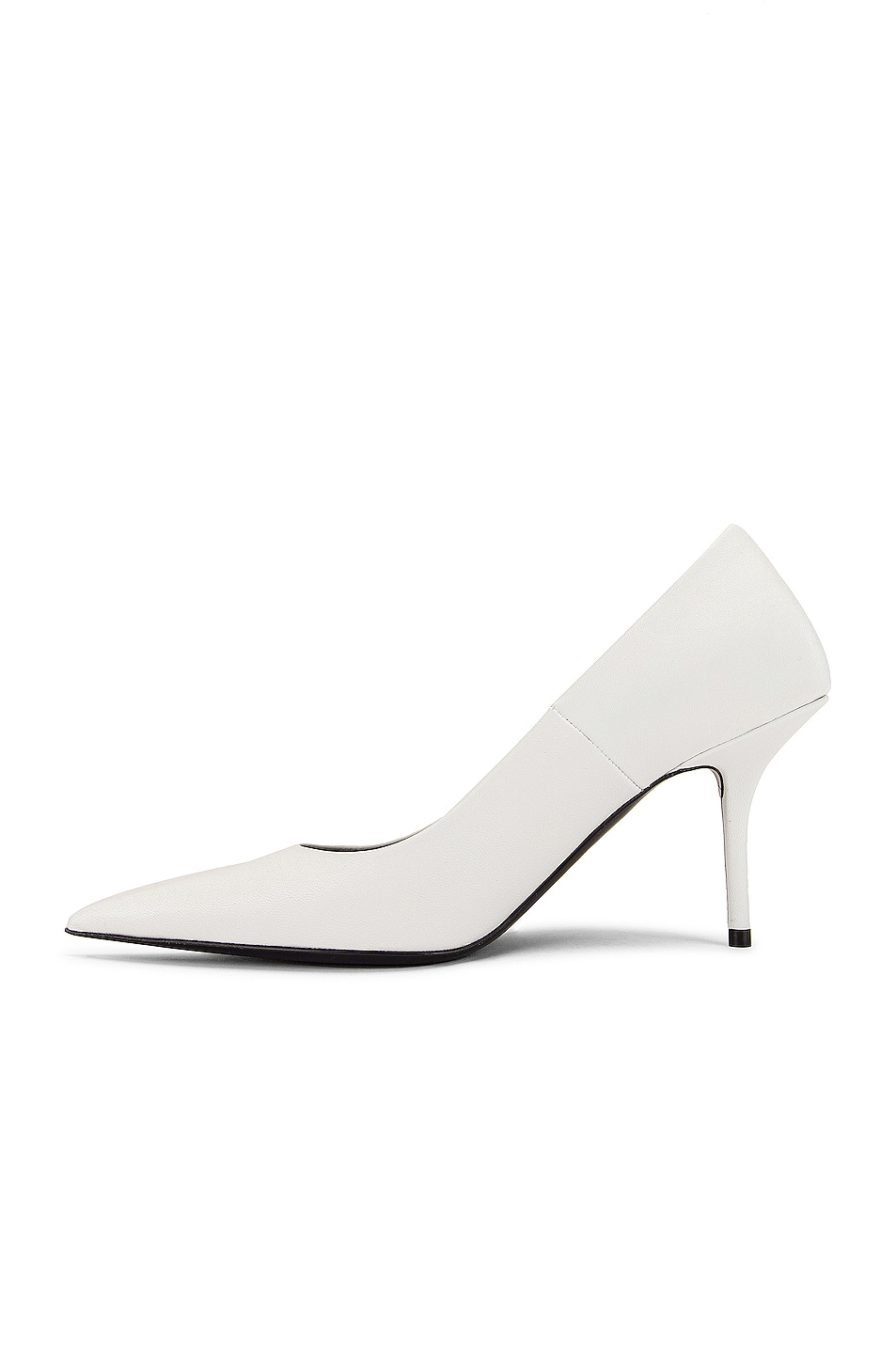 Image 5 of Balenciaga Square Knife Pumps in White