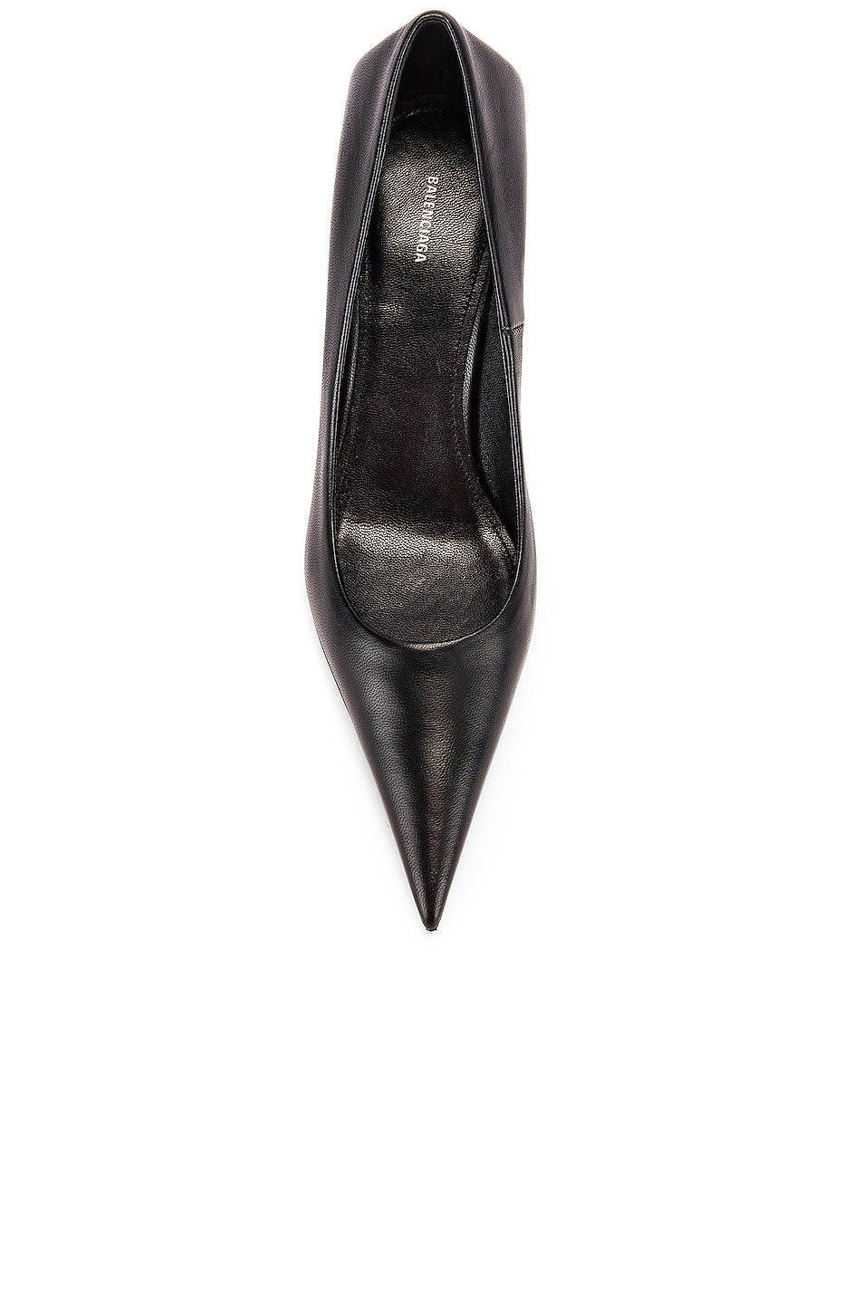 Image 4 of Balenciaga Square Knife Pumps in Black
