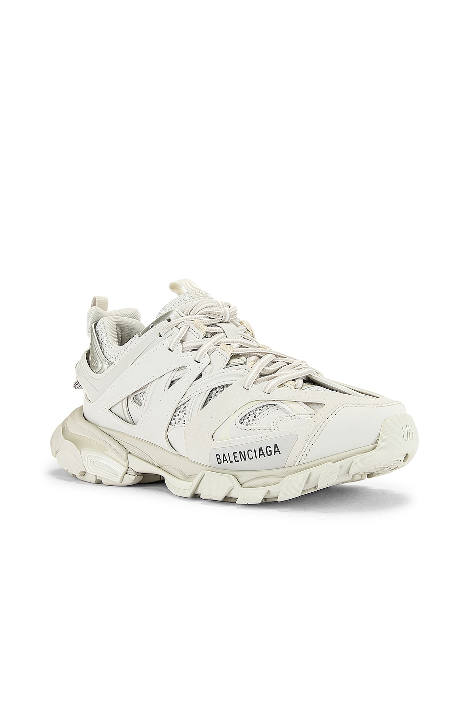 Image 2 of Balenciaga Track Sneakers in White