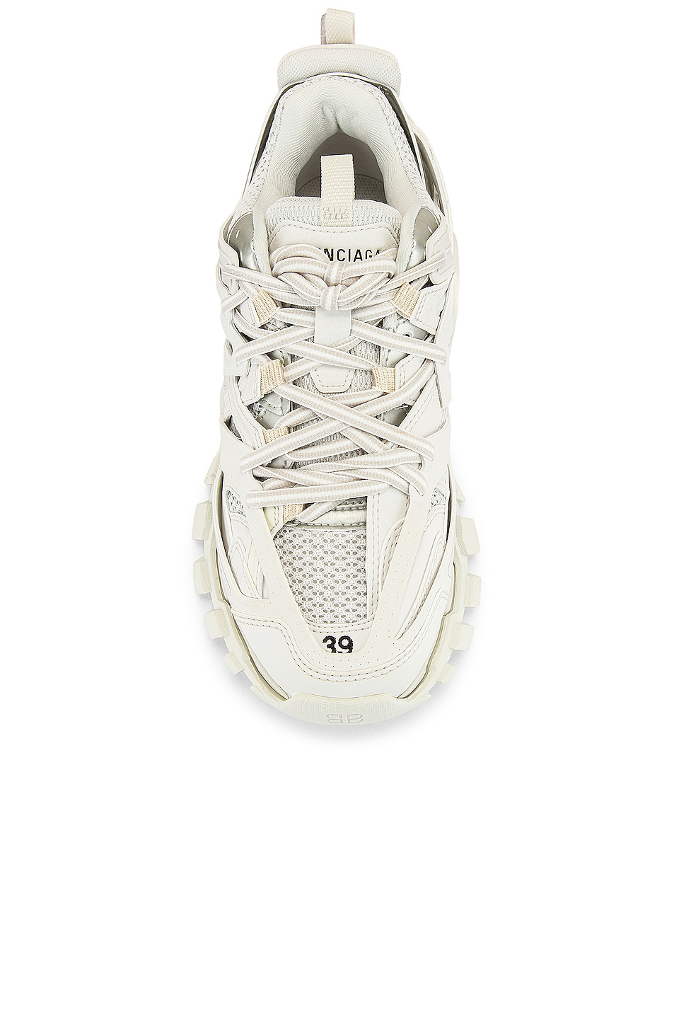 Image 4 of Balenciaga Track Sneakers in White