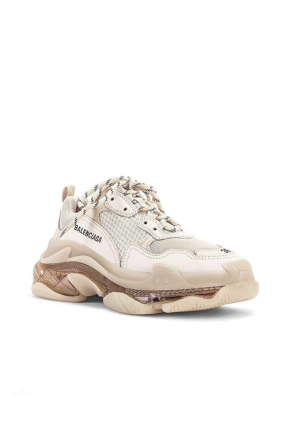 Image 2 of Balenciaga Triple S Sneakers in Off White