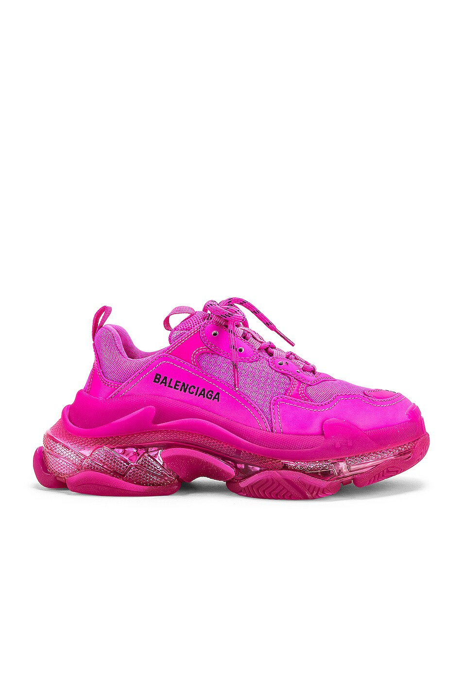 Image 1 of Balenciaga Triple S Sneakers in Pink