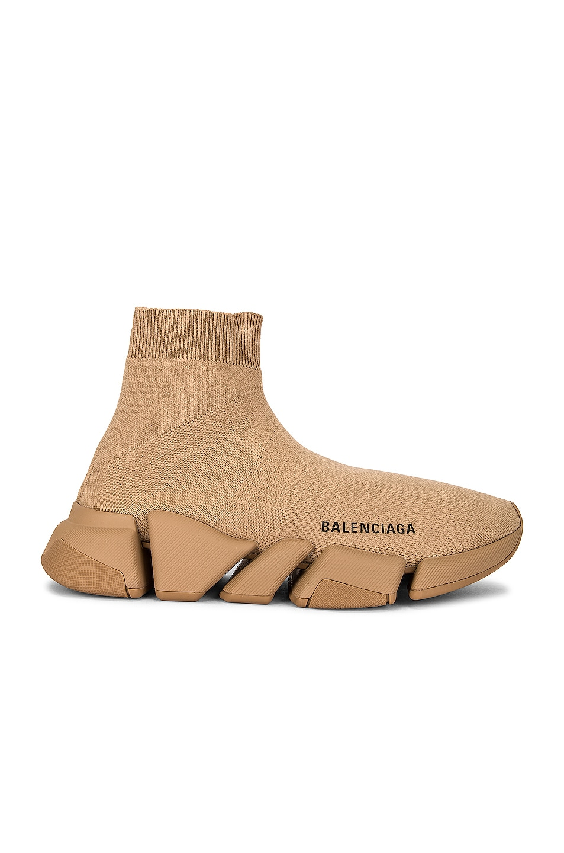 Image 1 of Balenciaga Speed Light 2 Sneakers in Beige