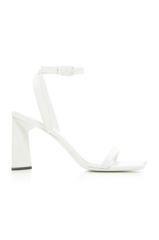 Image 1 of Balenciaga Moon Sandals in Optical White