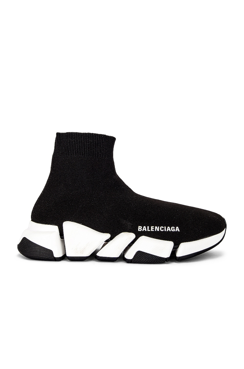 Image 1 of Balenciaga Speed 2.0 LT Sneakers in Black & White
