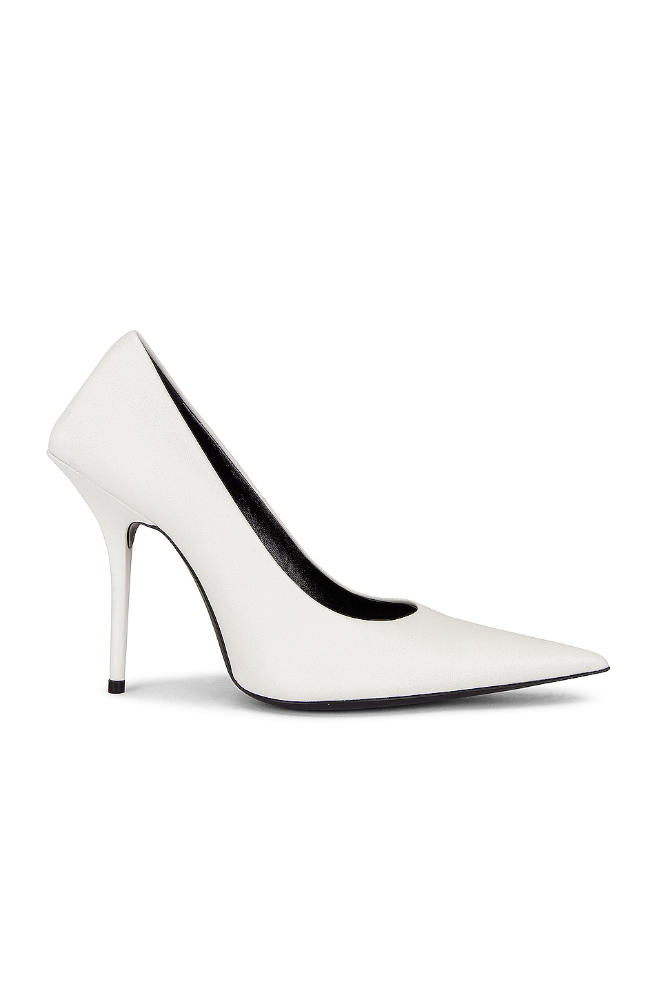 Image 1 of Balenciaga Square Knife Pumps in White