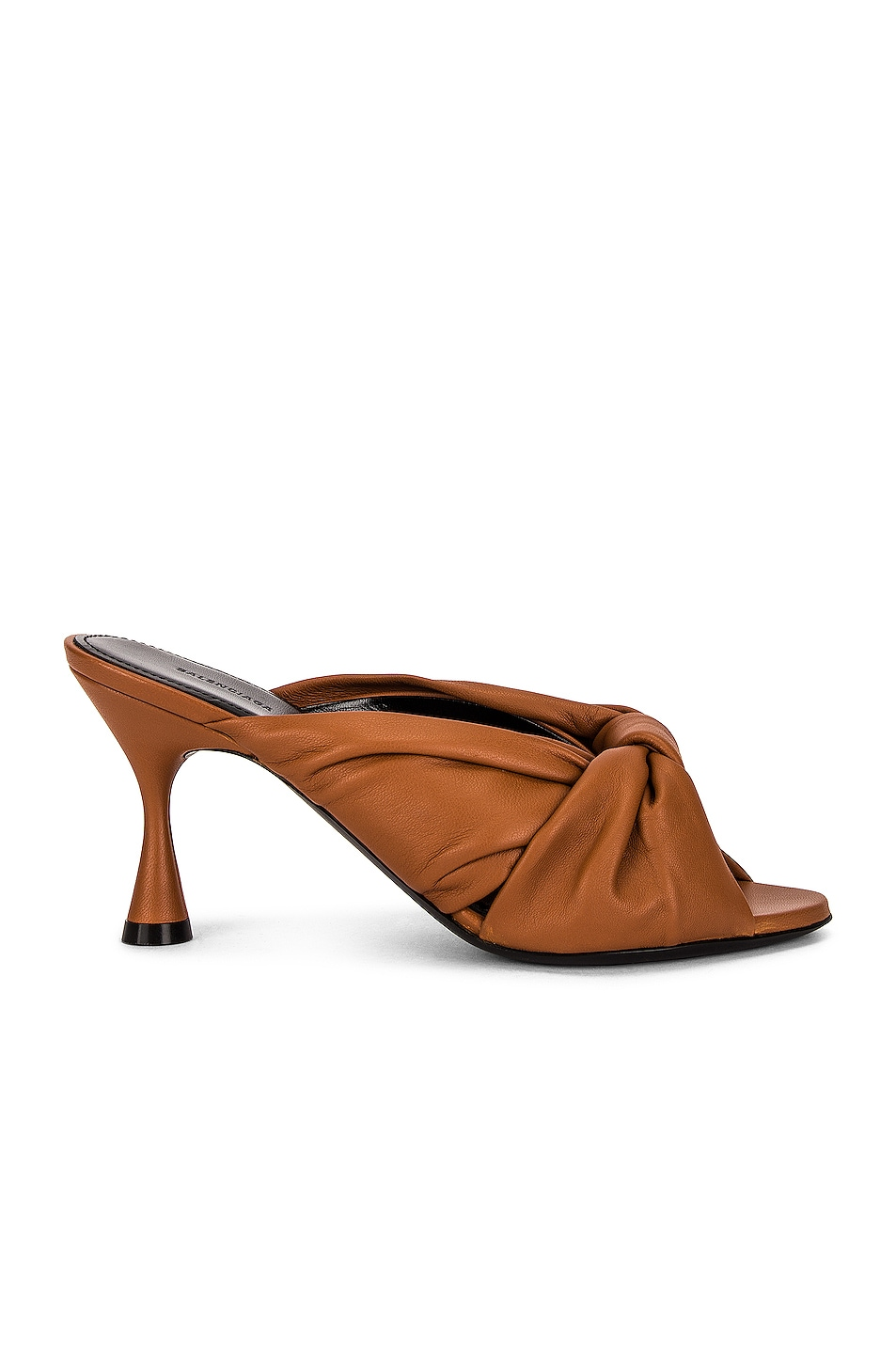 Image 1 of Balenciaga Drapy Sandals in Cognac
