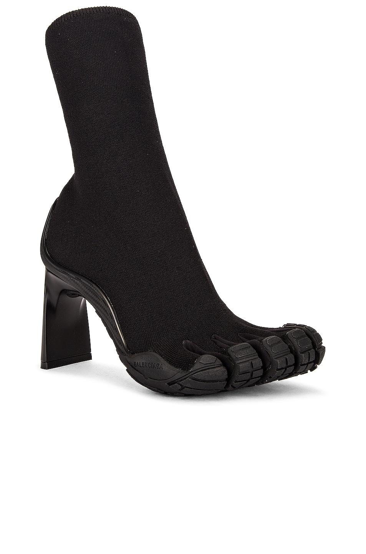 Image 1 of Balenciaga High Toe Booties in Black