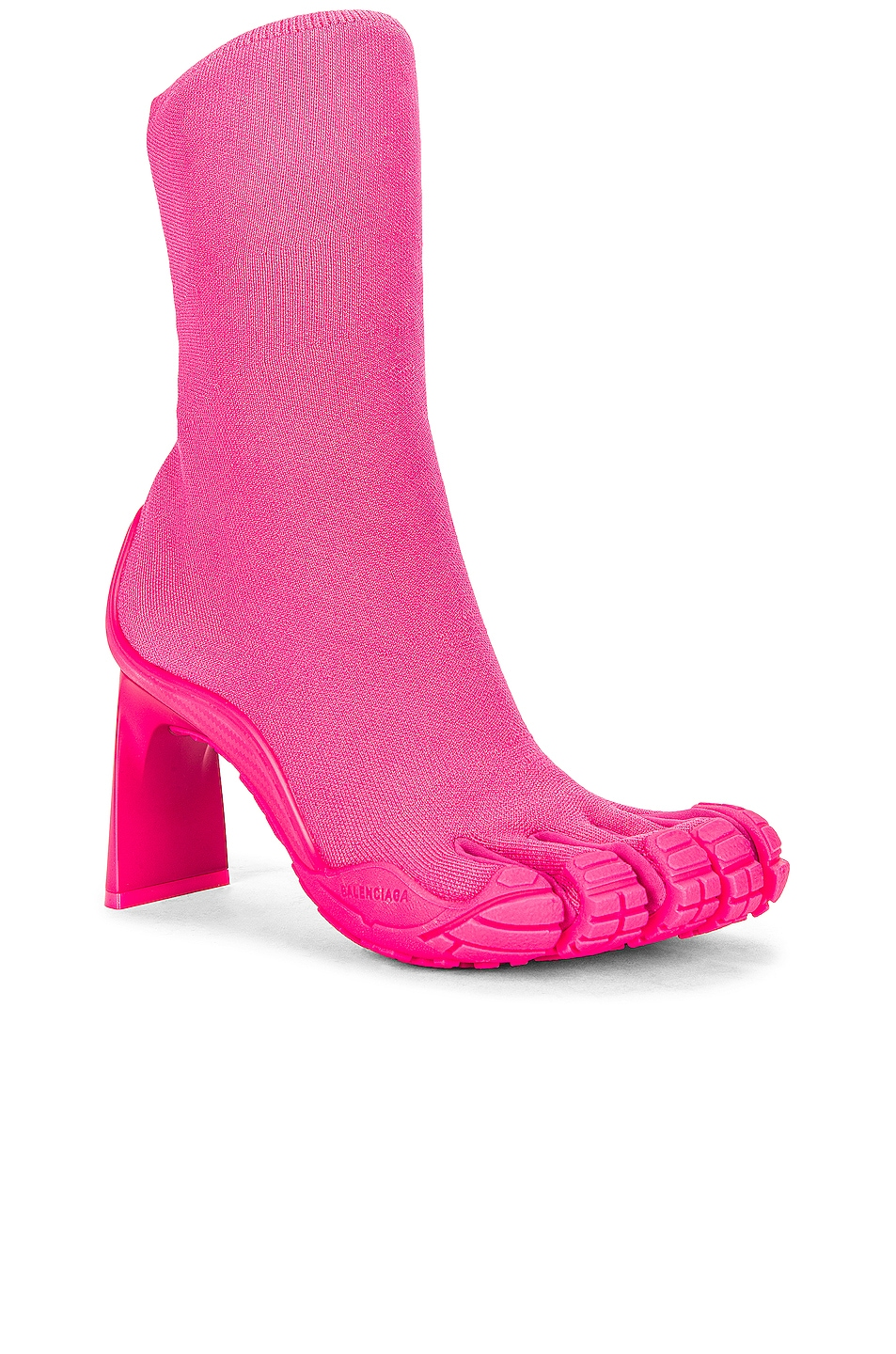 Image 1 of Balenciaga x Vibram Five Fingers High Toe Ankle Boots in Fluo Pink