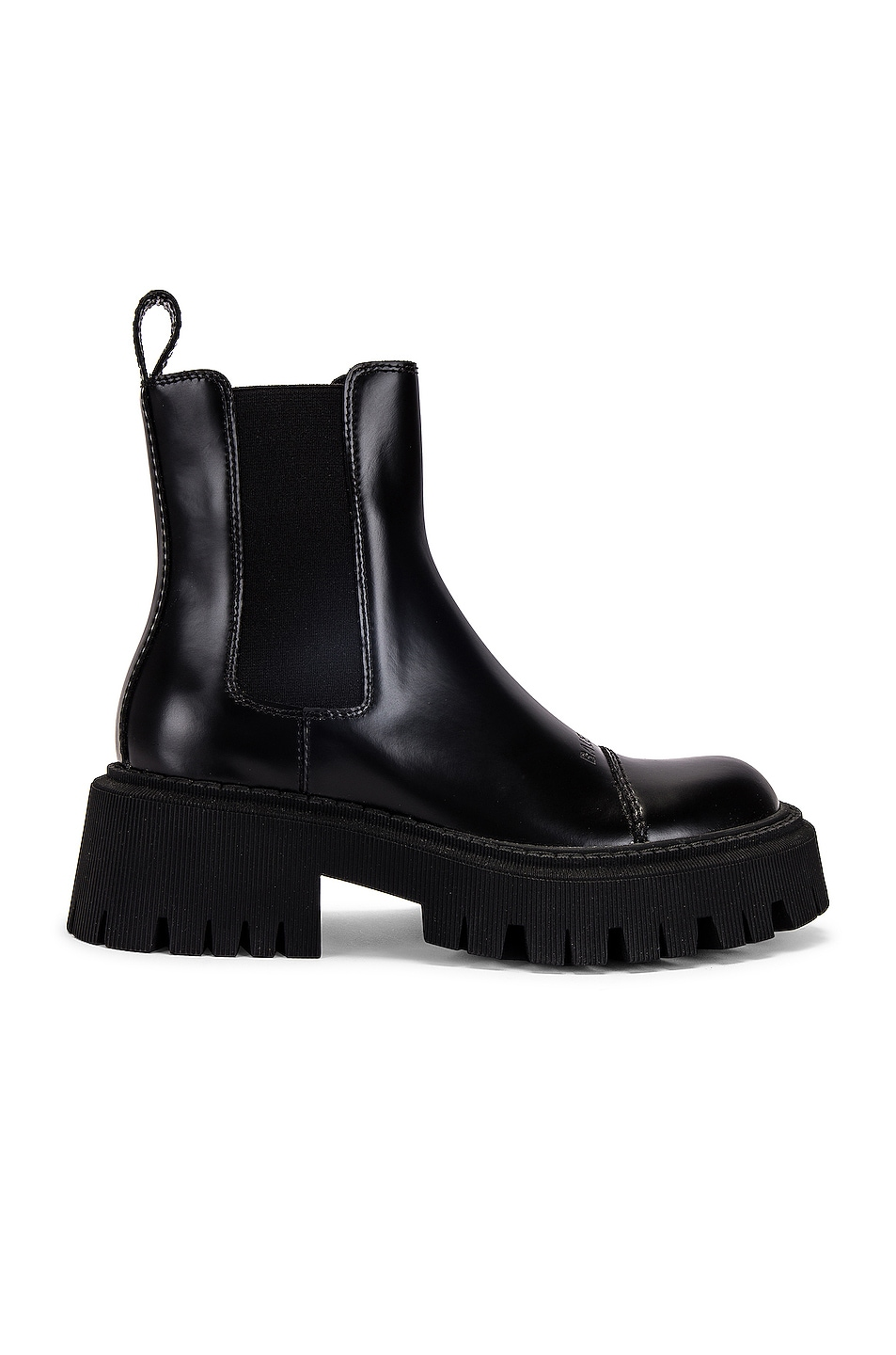Image 1 of Balenciaga Tractor Booties in Black