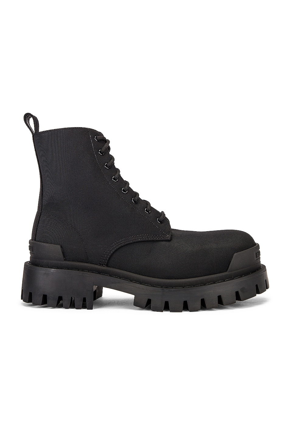 Image 1 of Balenciaga Strike Boots in Black
