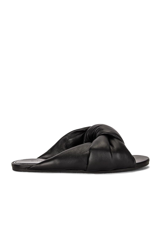 Image 1 of Balenciaga Drapy Sandals in Black