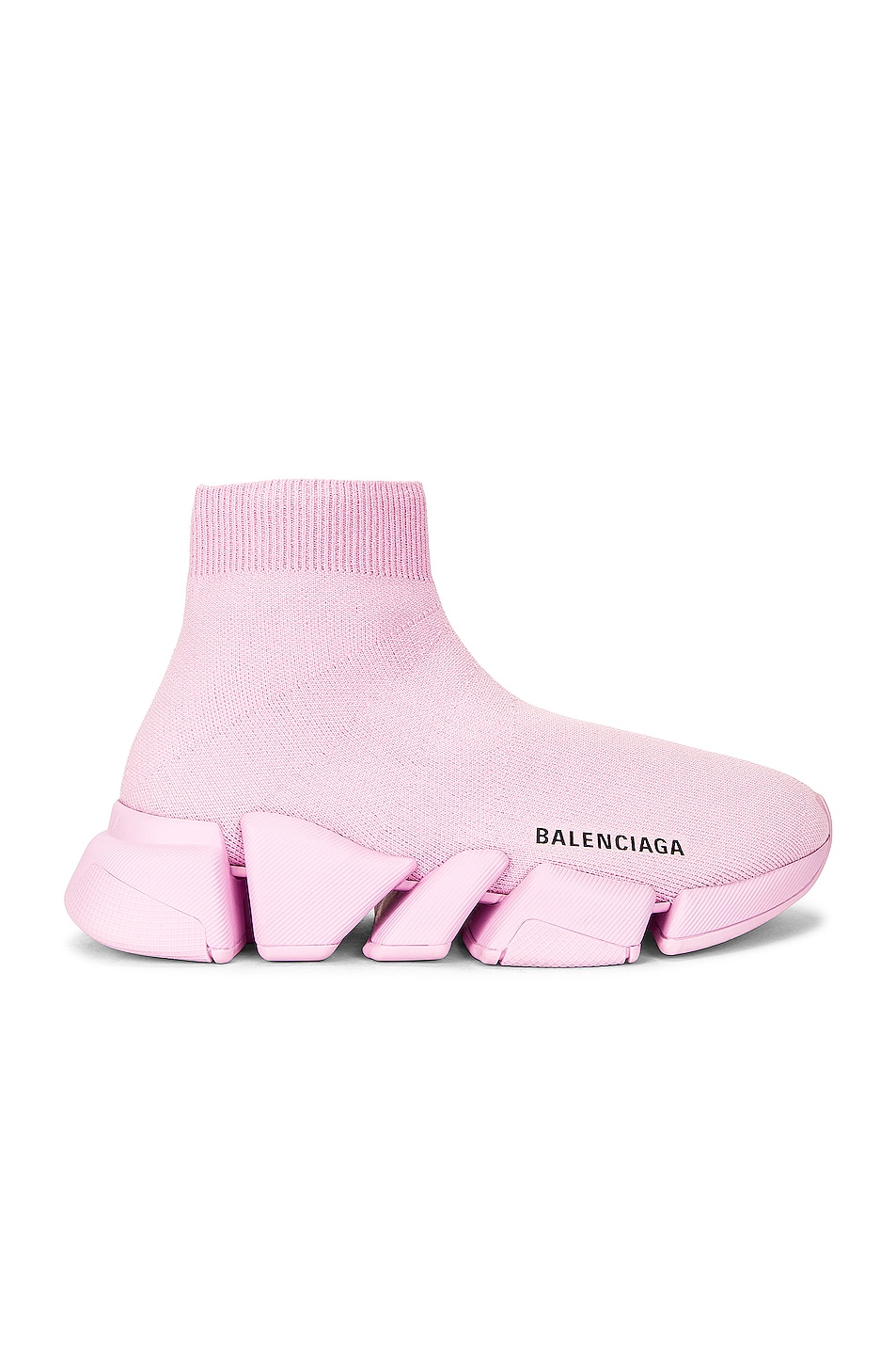 Image 1 of Balenciaga 2.0 Speed Sneakers in Light Pink