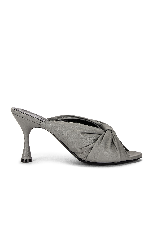 Image 1 of Balenciaga Drapy Sandals in Balenciaga Grey