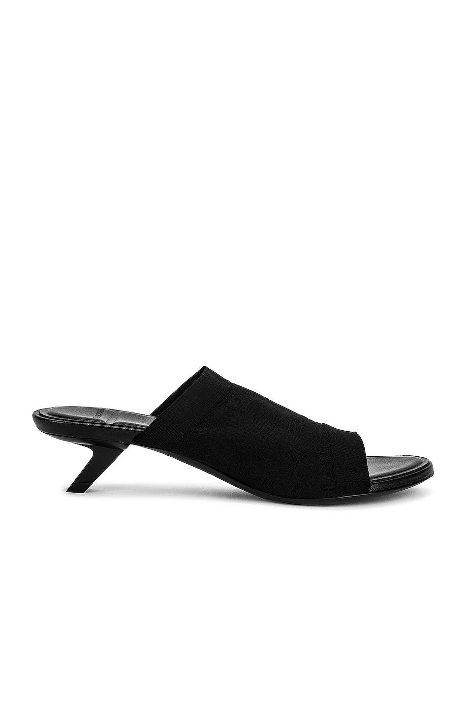 Image 1 of Balenciaga Stretch Sandals in Black