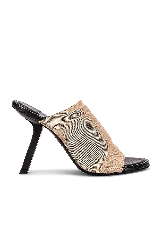 Image 1 of Balenciaga Stretch Sandals in Beige
