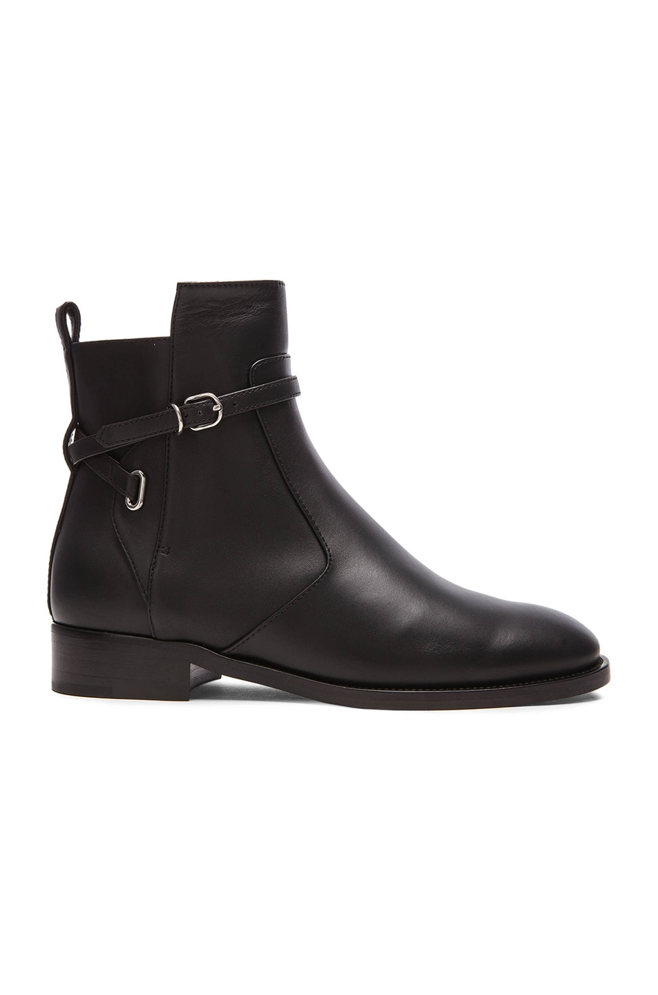 Image 1 of Balenciaga Calfskin Leather Boots in Black