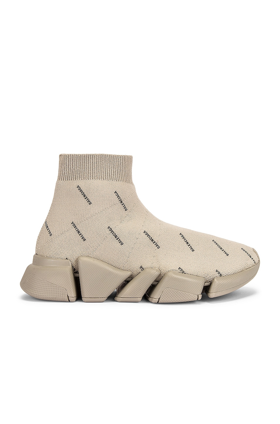 Image 1 of Balenciaga Speed 2.0 Lt Sneakers in Sand & Black