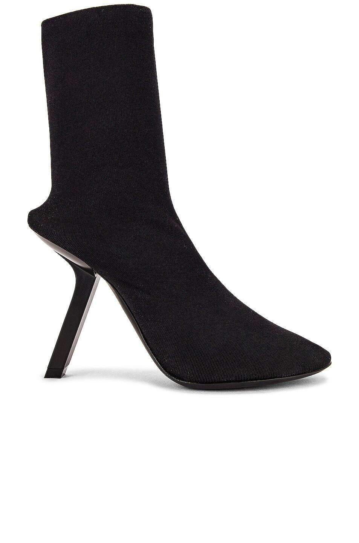 Image 1 of Balenciaga Tight Booties in Black
