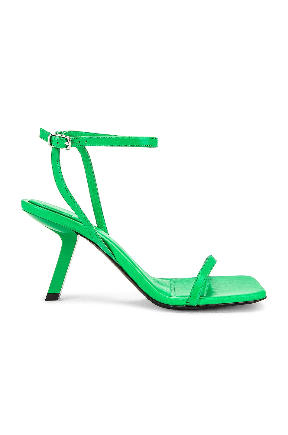 Image 1 of Balenciaga Void Sandals in Green