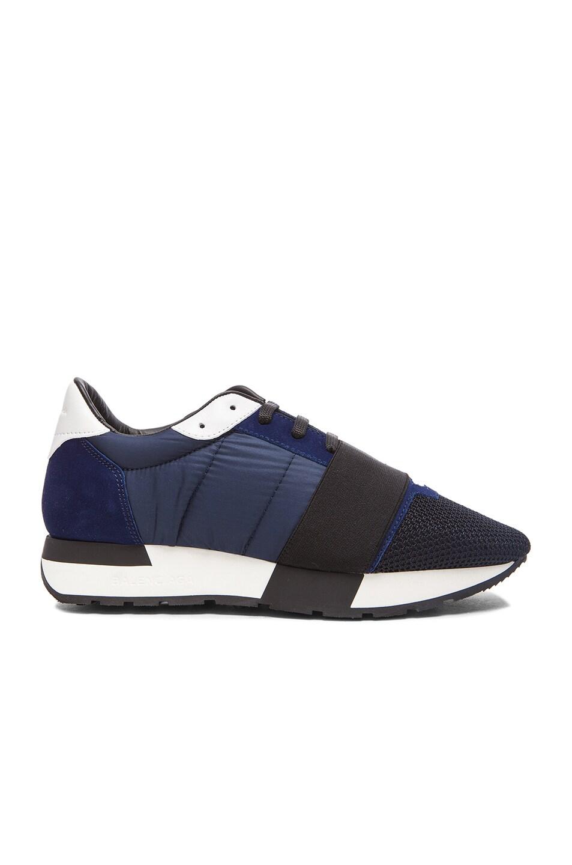 Image 1 of Balenciaga Runner Sneaker in Blue