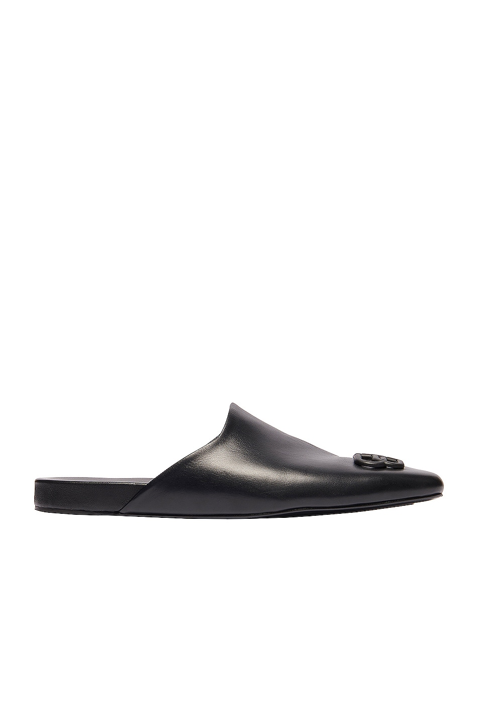 Image 1 of Balenciaga Cosy BB Flat Mules in Black