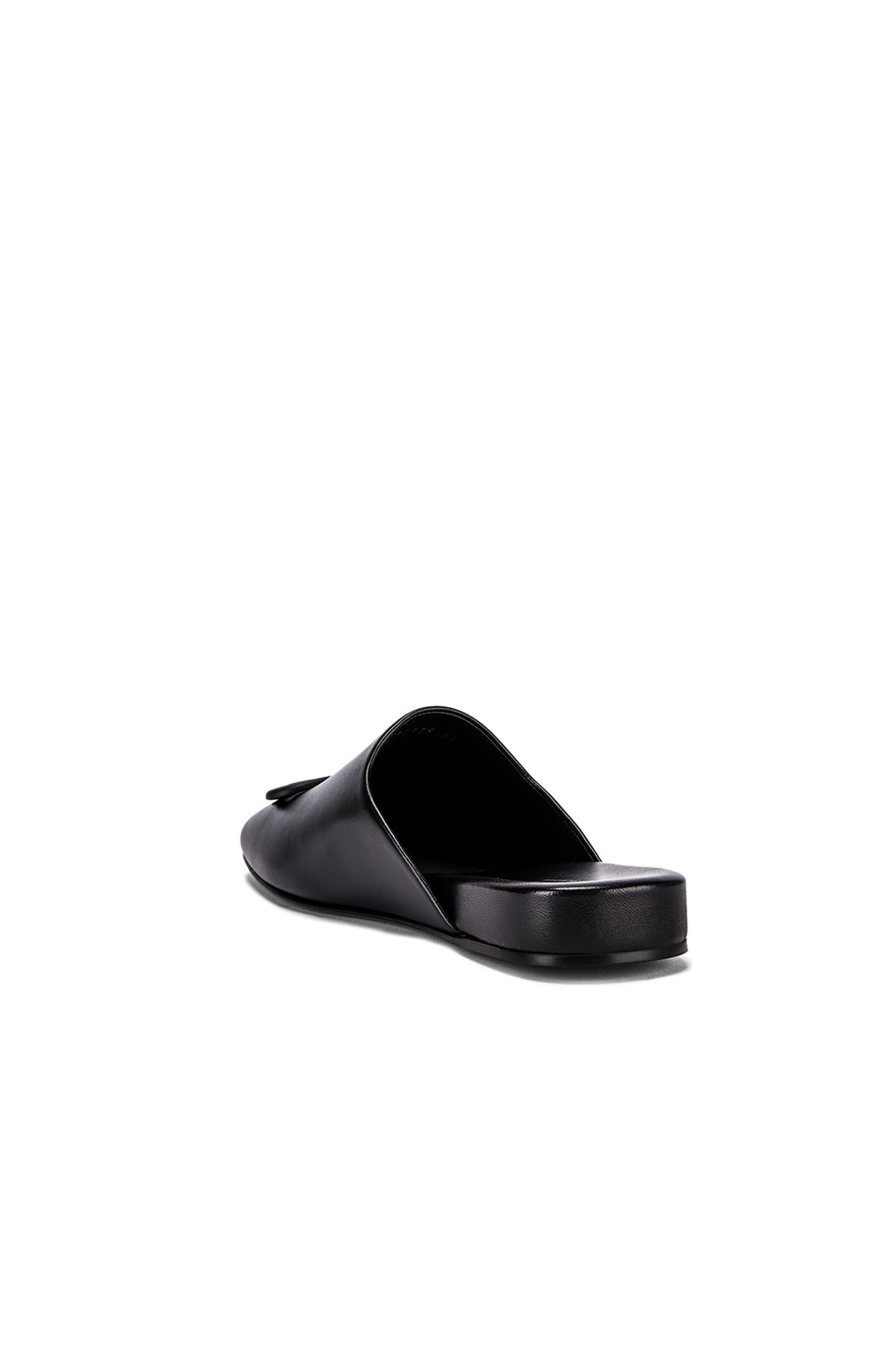 Image 4 of Balenciaga Cosy BB Flat Mules in Black