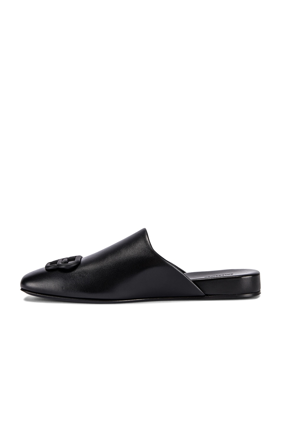 Image 5 of Balenciaga Cosy BB Flat Mules in Black