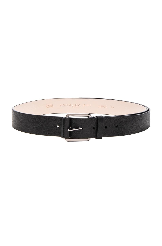 Image 1 of Barbara Bui Leather Belt in Black