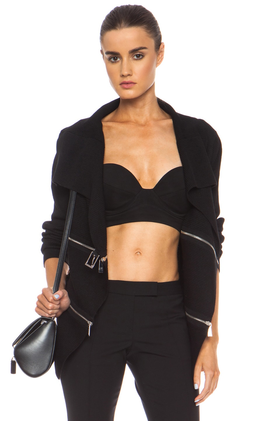 Image 1 of Barbara Bui Knit Sweater in Black