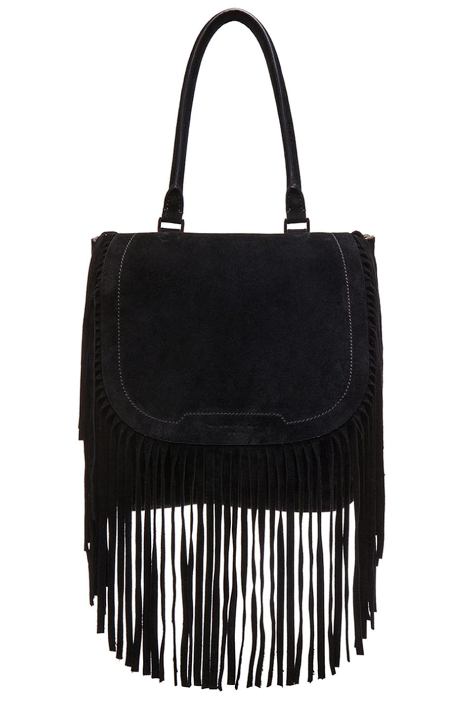 Image 1 of Barbara Bui Fringe Bag in Black
