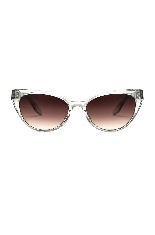 Image 1 of Barton Perreira for FWRD Leida Sunglasses in Aspen & Smokey Topaz