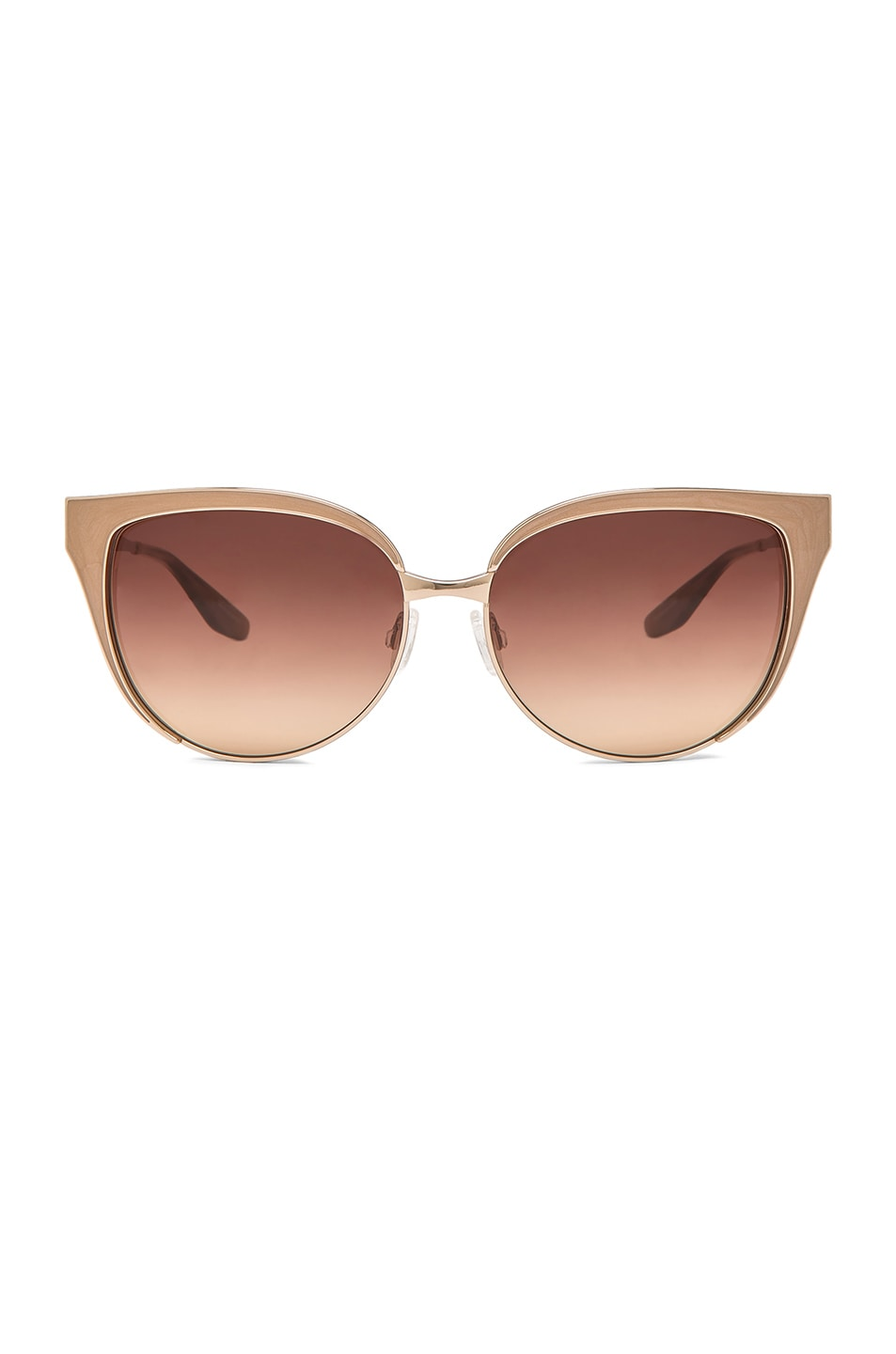 056bedf1f3 Image 1 of Barton Perreira Valerie Sunglasses in Gold