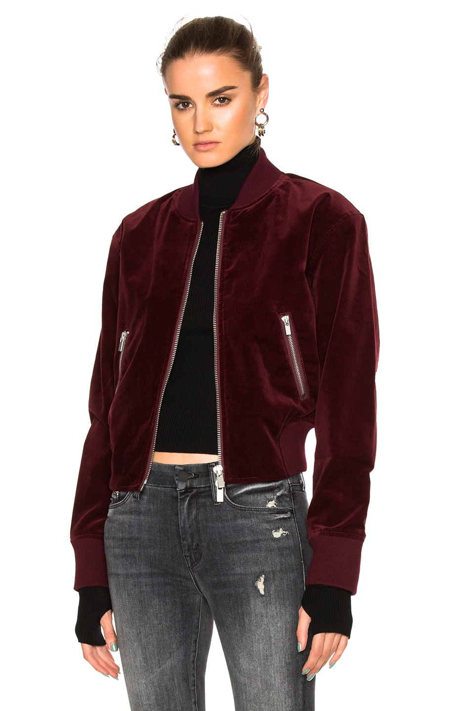 Image 1 of BLK DNM Jacket 26 in Burgundy