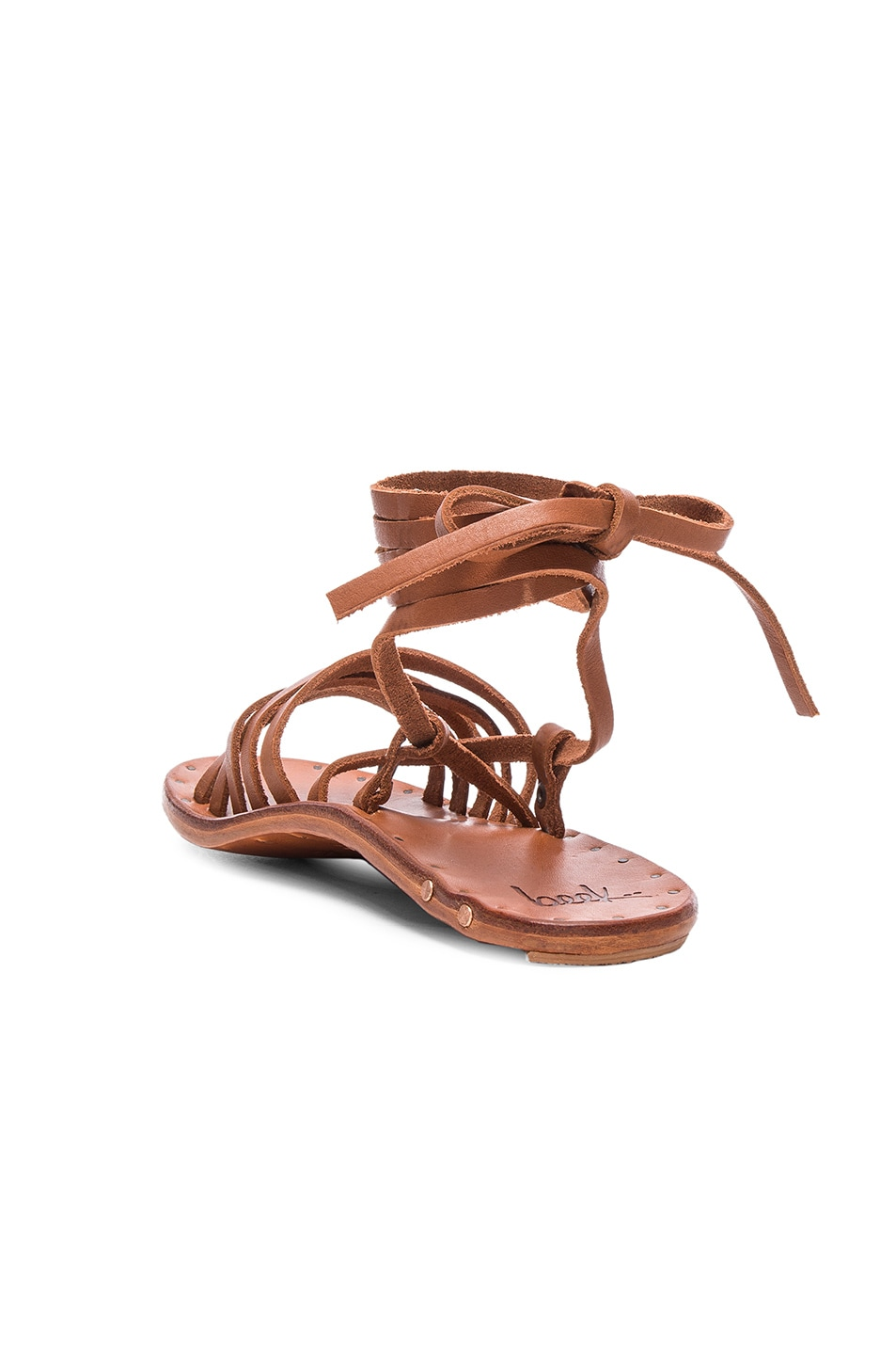 1690068a67c Image 3 of Beek Leather Heron Sandals in Tan