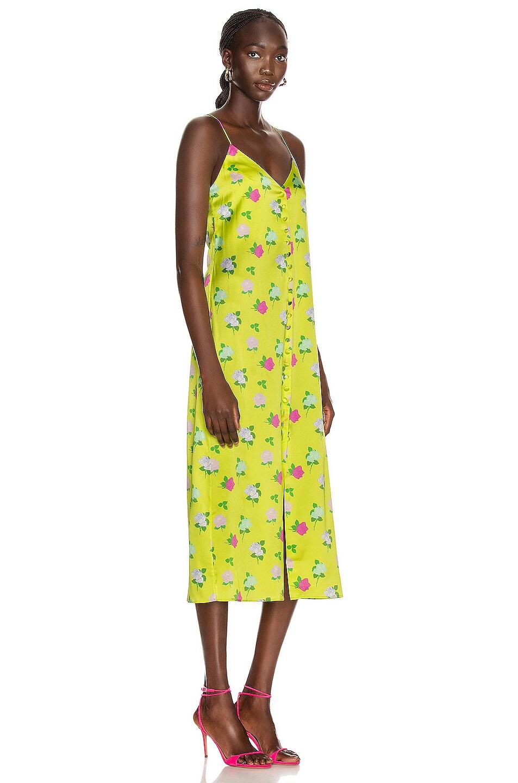 Image 2 of BERNADETTE Hailey Slip Dress in Rose Multi & Yellow
