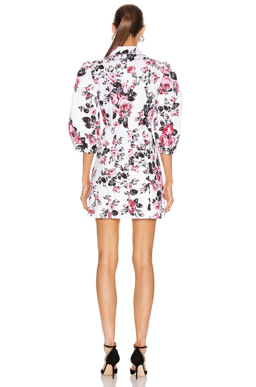 Image 3 of BROGNANO Floral Button Down Mini Dress in Multi
