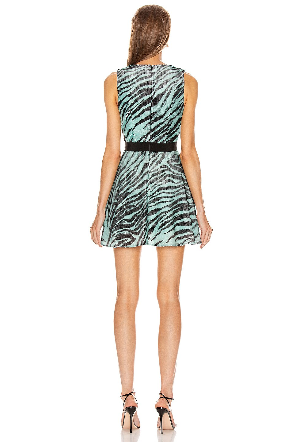 Image 3 of BROGNANO Mini Dress in Zebra