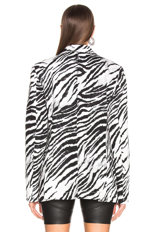 Image 4 of BROGNANO Zebra Blazer in Black & White