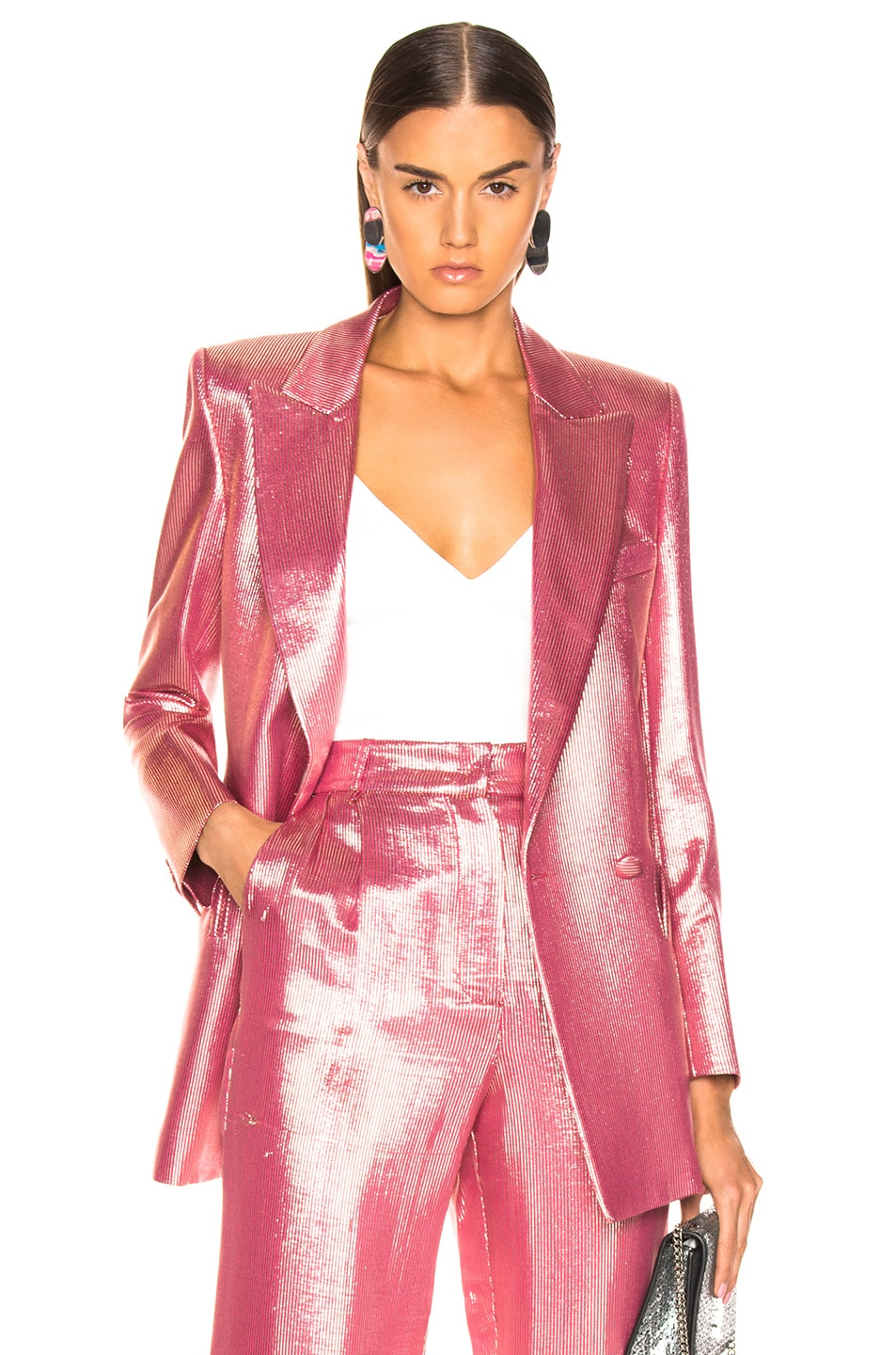 Image 1 of Blaze Milano Diva Royal Everyday Blazer in Pink