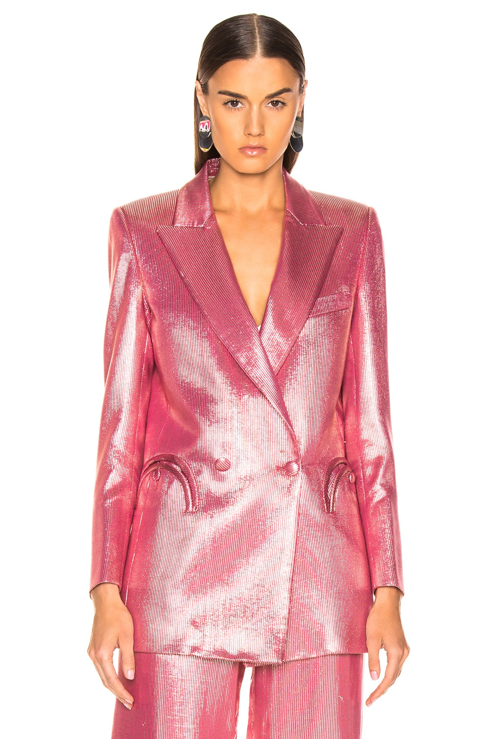 Image 2 of Blaze Milano Diva Royal Everyday Blazer in Pink
