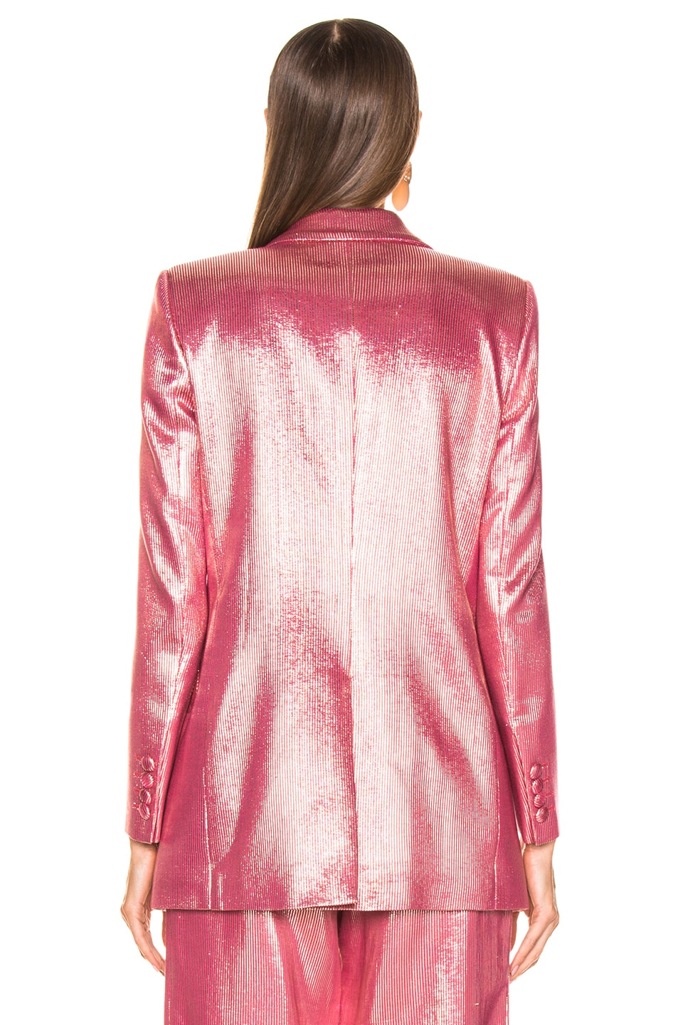 Image 4 of Blaze Milano Diva Royal Everyday Blazer in Pink