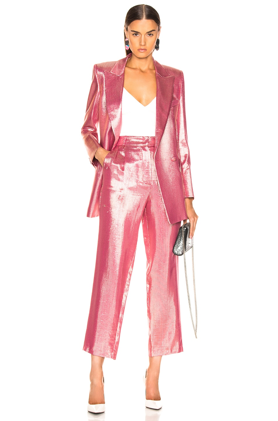 Image 5 of Blaze Milano Diva Royal Everyday Blazer in Pink