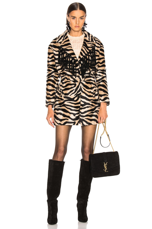 Image 1 of Blaze Milano Foxy Lady Hunny Jacket in Zebra
