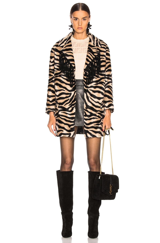 Image 2 of Blaze Milano Foxy Lady Hunny Jacket in Zebra