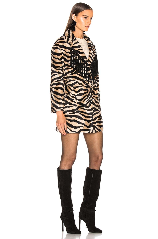 Image 3 of Blaze Milano Foxy Lady Hunny Jacket in Zebra
