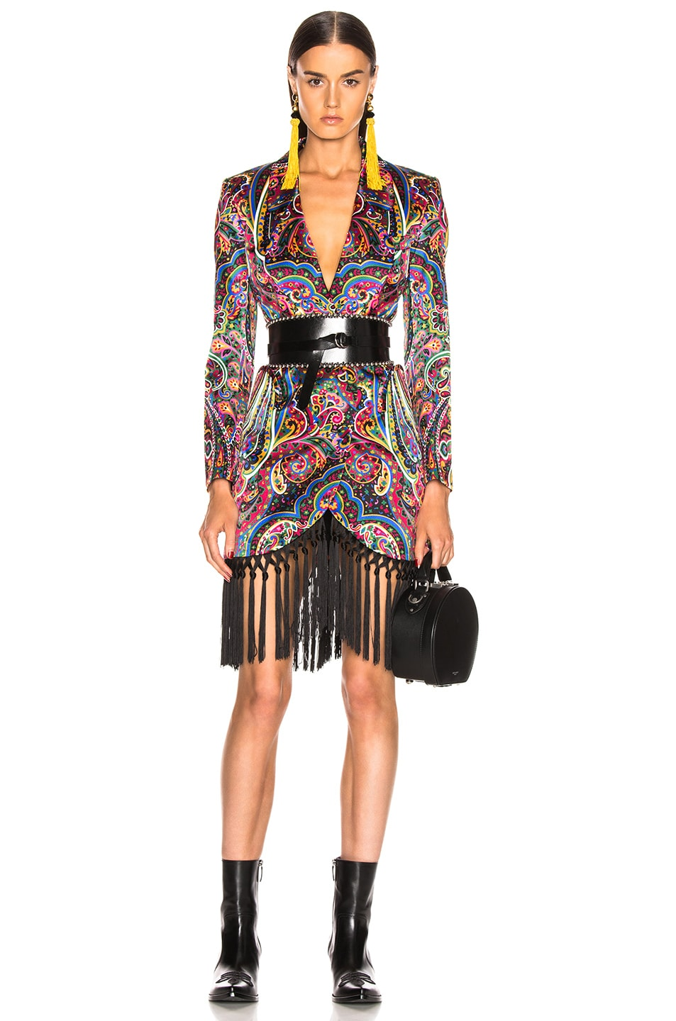 Image 1 of Blaze Milano Irina Sunshine Blazer in Multicolor Paisley