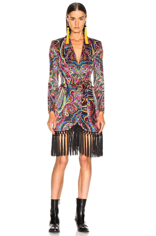 Image 2 of Blaze Milano Irina Sunshine Blazer in Multicolor Paisley