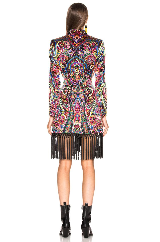 Image 4 of Blaze Milano Irina Sunshine Blazer in Multicolor Paisley